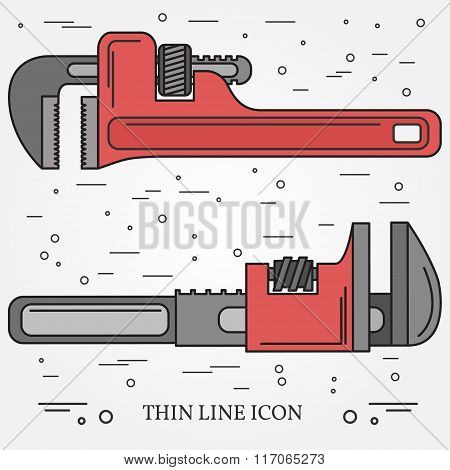 Wrench Icons. Wrench Icons Vector. Wrench Icons Drawing. Wrench Icons Image. Wrench Icons Graphic. W