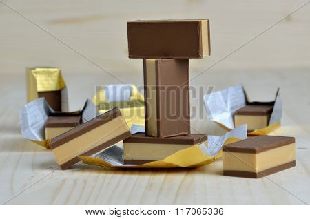 Bunch Of Chocolate Candies