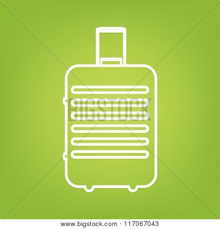 Baggage line icon
