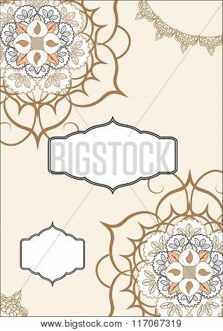 Ottoman Pattern Invitation