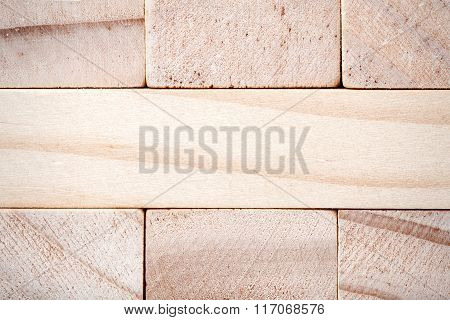 Wooden Blocks Tower Texture