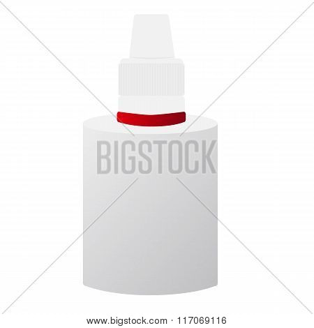 Vector image of medical bottles