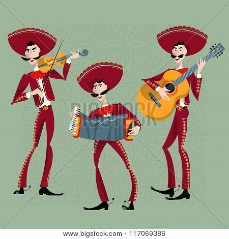 Mariachi Band. Mexican Traditions.