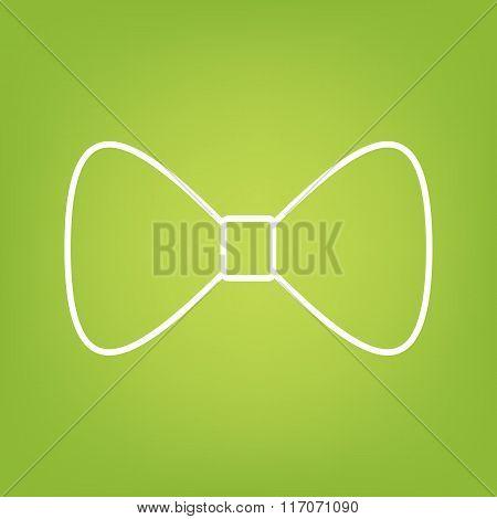 Vector Bow Tie line icon