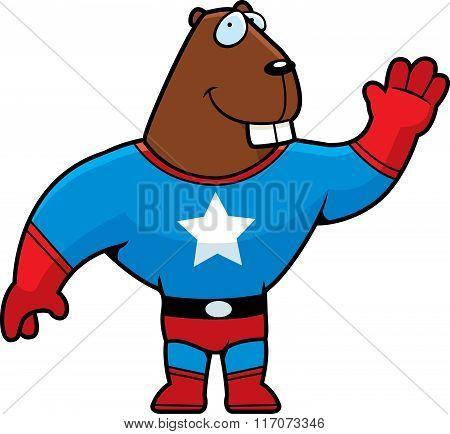 Superhero Beaver
