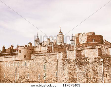 Tower Of London Vintage