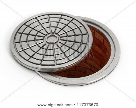 Manhole cover lid