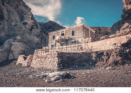 Weathered Abandoned House