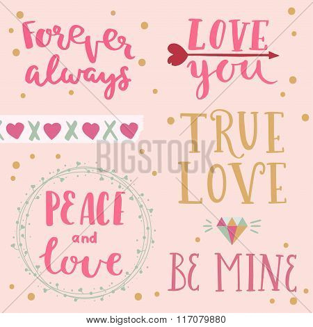 Vector Photo Overlays Of Valentine's Day