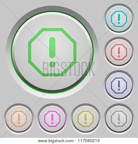 Error Push Buttons