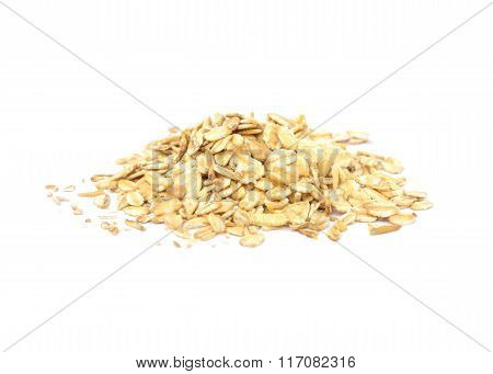 Fresh oat flakes