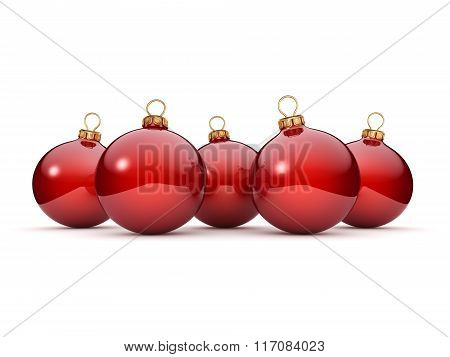 Red Christmas Ball