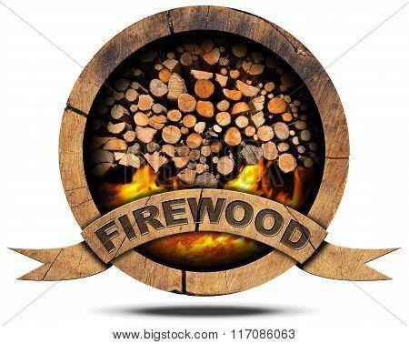 Firewood - Wooden Symbol