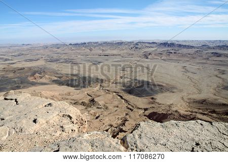 Makhtesh (crater) Ramon, Israel
