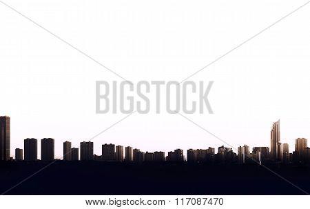 Benidorm Skyline