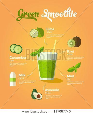 natura green smoothie
