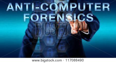 Investigator Pushing Anti-computer Forensics