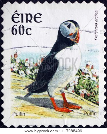 Postage Stamp Ireland 2004 Puffin, Seabird