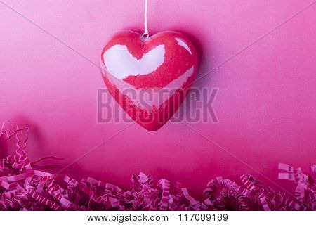 Beautiful Special Macro Heart With Details Symbol Of Love