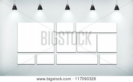 Blank Many Poster