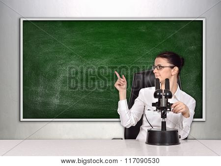 Scientific Researcher Woman
