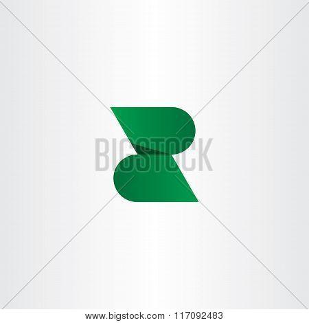 Logotype Z Logo Letter Z Green Vector Icon