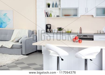 Stylish kitchen interior