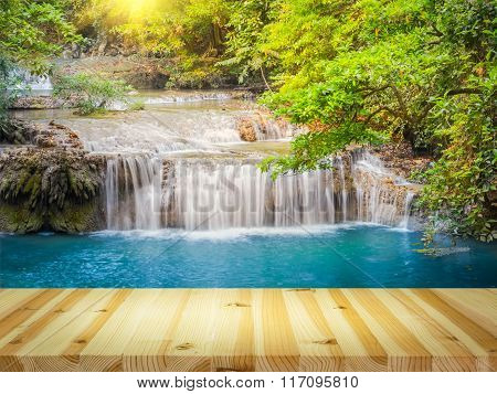Waterfall Wood Floor