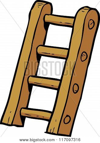 Cartoon Doodle Stairs