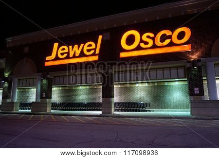 Jewel - Osco at Night