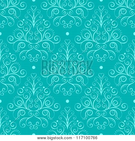 Curly Seamless Pattern
