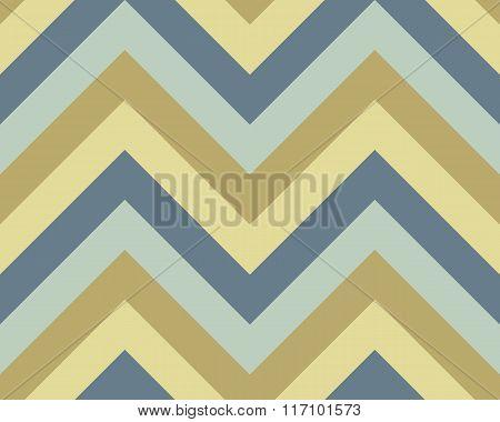 Seamless geometric strip pattern. Stripy texture. Zig-zag line background. Diagonal strips. Gray, go