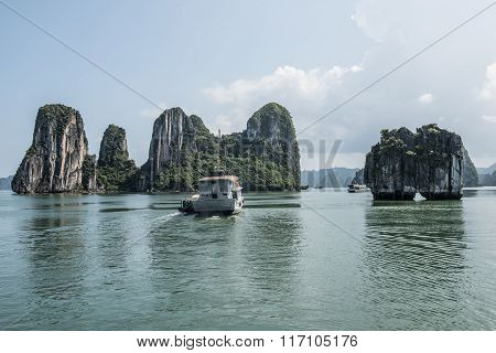 Karst Hillscape in Ha Long