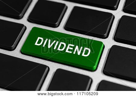 Dividend Button On Keyboard