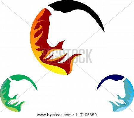 stock logo bull