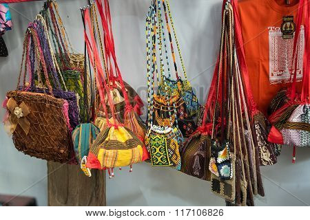 Hand Made Bags In The Market