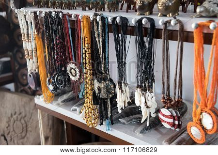 Hand Made Necklaces In The Market