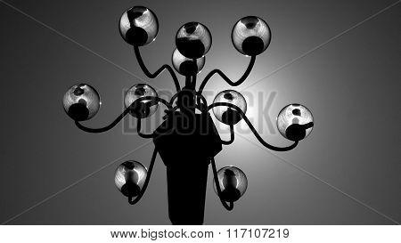 Streetlamp Silhouette