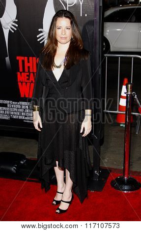 Holly Marie Combs at the Los Angeles premiere of