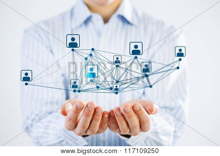 Social network structure as concept