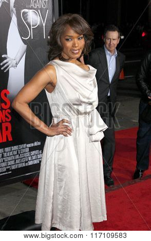 Angela Bassett at the Los Angles Premiere of