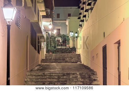 Nuns Stairway - Old San Juan, Puerto Rico