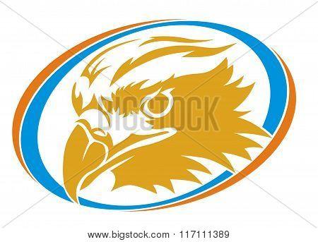 eagle head circle
