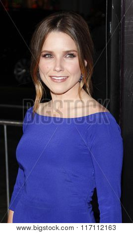 Sophia Bush at the Los Angles Premiere of
