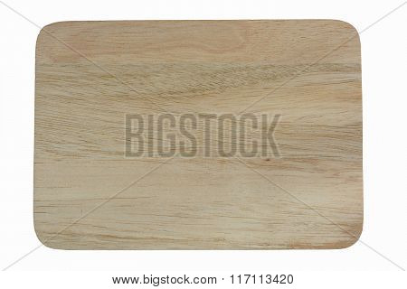 wooden on white background with clipping path