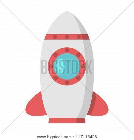 Beautiful Rocket With Porthole