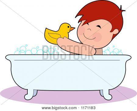 Boy Tub Bubbles