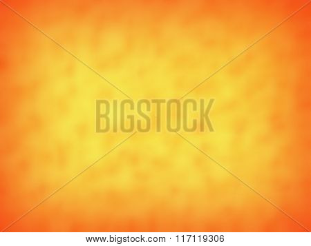 Yellow-orange Abstract Blurred Background, Soft Blurred Backdrop