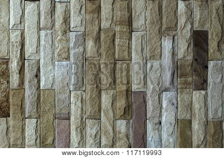 Stone Wall.  Texture And Background.