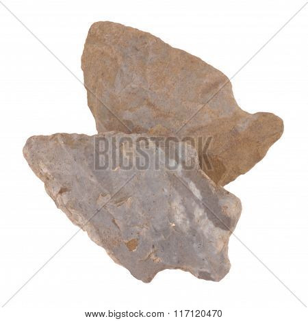 Ancient Flint Arrow Heads